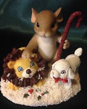 Charming Tails By Dean Griff- Christmas Figurine - Season Of Peace