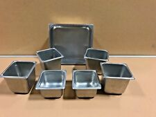 Commercial Steam Table Pans Vollrath Crest Ware Lot Of 7