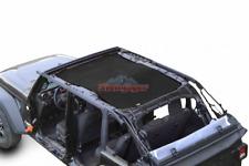 Steinjager J0048106 Black Teddy Top Solar Screen for 2018 Jeep Wrangler JL