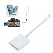 OEM Lightning SD Card Camera Reader USB Adapters for iPad iPhone IOS 11.3/above