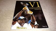 TRIB TOTAL MEDIA PITTSBURGH STEELERS VI SIX-TIME SUPER BOWL CHAMPS SPECIAL ISSUE