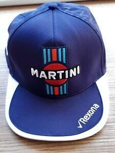 Cap NWOT Williams Martini Racing F1 Formula 1 Team Navy Blue Hat