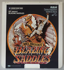 Mel Brooks Blazing Saddles with Gene Wilder CED RCA Selectavision VideoDisc