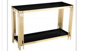 Cleveland Black Console Table