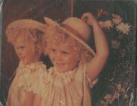 MOUSE PAD bambina allo specchio con cappello in paglia NEW ITALIA tappetino