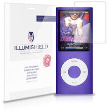 iLLumiShield HD Screen Protector w Anti-Bubble/Print 3x for Apple iPod nano 4