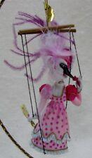 Ashton Drake Heirloom Ornaments MERRIE-O-NETTES LADY COQUETTE Goose