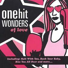 Various Artists : One Hit Wonders of Love CD