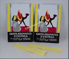 CARTA Aromatica d'ERITREA 120 listelli n°2 confezioni profumo ambienti