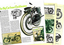 Old P&M MOTORCYCLE Article / Photos / Picture's: PANTHER,