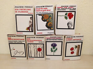 Bücher Joachim Fernau 7 Stück gebundene Ausgaben