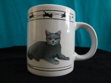 New ListingCat Lovers Limiited ~ Turkish Van Cat & Chartreux Coffee/Tea Mug # 448