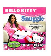 1X ADULT Hello Kitty Snuggie Blanket With Sleeves Soft Fleece, Limited Edition