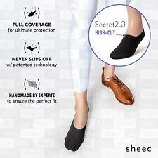 Sheec SECRET 2.0 HIGH-CUT. Best Women's No-Show Socks for Dressy Shoes