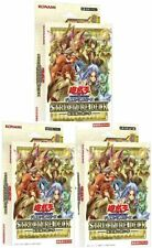 Yu-Gi-Oh Card Structure Deck Masters of the Spiritual Arts japanese 3 PCS