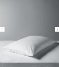Natural Duck Feather Standard Pillow, Medium/Firm