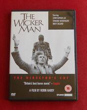 The Wicker Man Director's Cut - Region 2 DVD - Edward Woodward, Christopher Lee