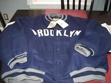 MENS BROOKLYN DODGERS 1938 MITCHELL & NESS WOOL JACKET 4XL 60 NAVY MSRP $450