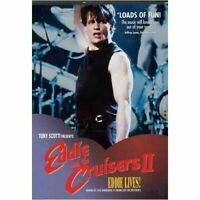 Eddie and the Cruisers II 2 DVD New and Sealed Plays Worldwide NTSC Region 0