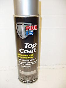 New POR-15 Safety Red Top Coat  Aerosol #46118