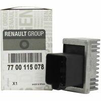 GENUINE GLOW PLUG RELAY RENAULT LAGUNA ESPACE SCENIC TRAFIC 1.5 1.9 2.2 DCI