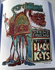 The Black Keys -Mini-Concert Poster Reprint for the 2008 Tour 14x10