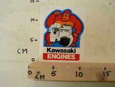 STICKER,DECAL KAWASAKI ENGINES FA210D  STATIONAIRE MOTOR ? GENERATOR ? GORILLA A