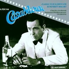 Casablanca Classic film scores for Humphrey Bogart (by National Philharmo.. [CD]