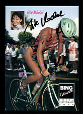 Ute Mückel Autogrammkarte Original Signiert Triathlon + A 134040