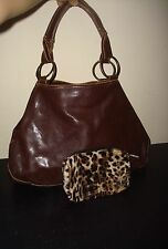 Women's Messenger Shoulder / Handbag / Purses Brown Bags Steampunk Style