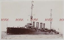 "Royal Navy Real Photo. HMS ""Weymouth"" Light Cruiser. WW1. Fine condition! 1911"