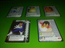 Dragon Ball Z ccg tcg Trunks Saga Vegeta Personality Set 1-4 + hi tech
