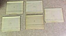 Carl Oberndorfer 1973 AD&D Tactical Studies Rules Editor Volume 1-5 Gen Con Set