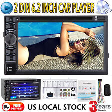 6.2'' Car Audio Video Player HD Digital Touch Screen 2din Universal Auto Radio