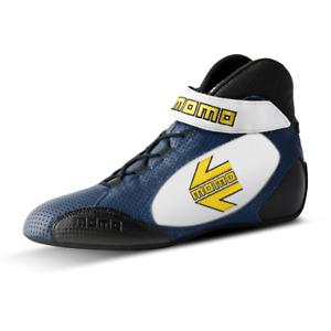 MOMO TOP GT PRO Racing Shoes Blue size 45 FIA