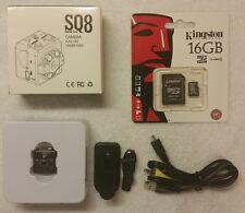 16GB SQ8 Mini DV Camera 1080P Full HD IR Night Vision DVR Video Recorder w Audio