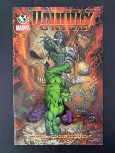 UNHOLY UNION #1 MARVEL/TOP COW 2007 VF+ DARKNESS/WITCHBLADE/HULK/GHOST RIDER
