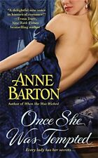 (EX-LIBRARY) 145551330X Once She Was Tempted: Number 2 in series (A Honeycote No