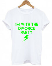 DIVORCE PARTY T SHIRTS, I'M WITH THE DIVORCE PARTY Funny, Wedding T Shirt