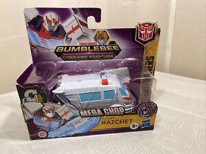 Transformers Cyberverse MEGA CHOP RATCHET 1-Step Changer Hasbro 2020 bumblebee