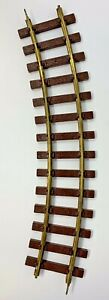 """Vintage LIONEL  - LARGE SCALE 15"""" Curved TRACK - G Scale"""