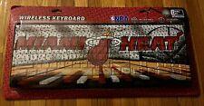 """Team ProMark Miami Heat Wireless Keyboard NBA (WKBNB15) """"NEW"""""""