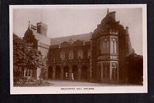 Spalding - Ascoughfee Hall - real photographic postcard