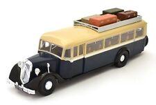 SUPERB HACHETTE 1/43 CITROEN T45 BUS/COACH IN DARK BLUE & BEIGE FRANCE 1934 HC06