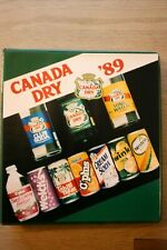 1989 Canada Dry Marketing Binder C-Plus Advertisement Management Give Aways RARE