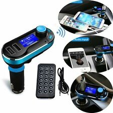 Bluetooth MP3 Player FM Transmitter Car Kit Hand-free with Remote Control