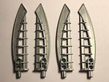 4 LEGO Parts Bionicle Weapon Air Katana 44033 FLAT SILVER
