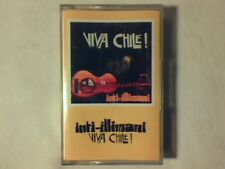 INTI-ILLIMANI Viva Chile! mc cassette k7 GERMANY MAI SUONATA UNPLAYED!!!