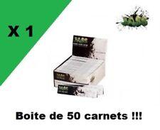 """JASS Slim """"classic edition"""" boite de 50 carnets de feuilles à rouler longue"""