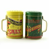 2-Piece Norpro Nostalgic Salt and Pepper Shakers, 10 oz Capacity Vintage Gift